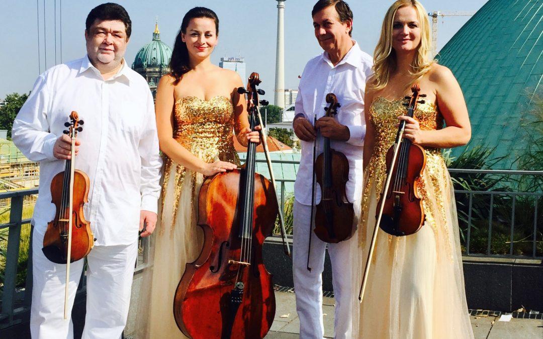 Update der neuen Webpräsenz 3+1 Quartett Berlin