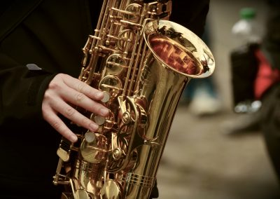 3+1 plus Saxophon ...